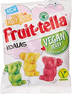 Fruittella Koalas - Vegan lemon, pineapple and raspberry flavour jellies - Made with real fruit juice - Gelatine free - Gr...