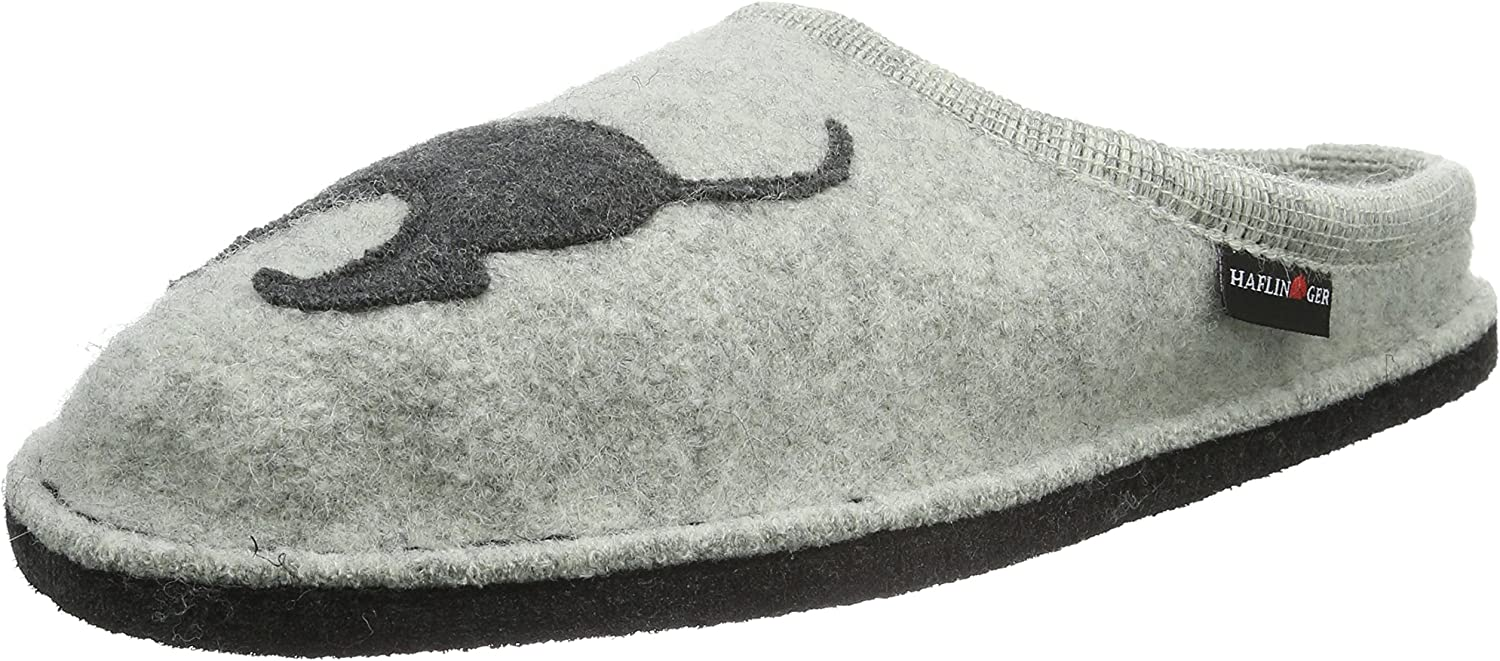 Haflinger Women's Doggy Applique Slipper