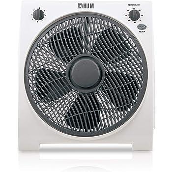 HJM VB30 Box-Fan, 45 W, Plástico, 3 Velocidades, Blanco: Amazon.es ...