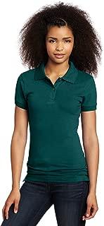 Uniforms Juniors' Stretch Pique Polo Shirt