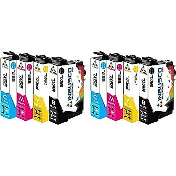 Tito Express Platinumserie 5 Druckerpatronen Passend Zu Epson T2991 T2994 29xl Black 18ml Color 15ml Xxl Inhalt Bürobedarf Schreibwaren