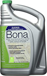 Bona Professional Pro Series Wm700018175 Stone, Tile and Laminate Cleaner Ready to Use, 1-Gallon Refill,