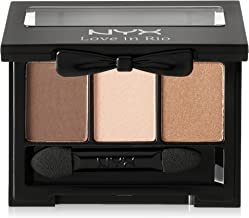 NYX Professional Makeup Love in Rio Eyeshadow Palette, The Brazilian, 0.11 Ounce