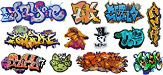N Scale Custom Graffiti Decals #24 - Great for Weathering Box Cars, Hoppers, Gondolas and More!