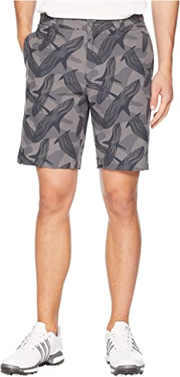 Ultimate Raven Print Shorts