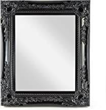 Amazon Co Uk Black Ornate Mirror