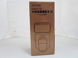 Yongnuo YN568EX II - Flash con Zapata para cámaras DSRL Canon (TTL II, IGBT, Alta Velocidad HSS), Color Negro