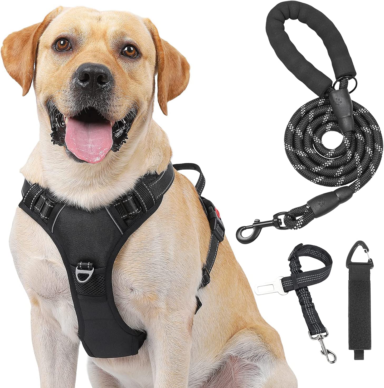 Kindacoool Dog Harness Albuquerque Mall No Lead Outstanding Pull Choke Front