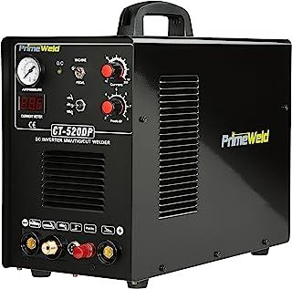 PrimeWeld Pilot Arc 50A Plasma Cutter, 200A TIG/Stick Welder Combo, Multipurpose Welding Machine for Home or Jobsite Use w...