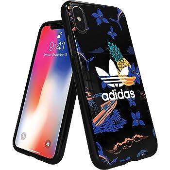 アディダスオリジナルス iPhone Xケース アイランドシリーズ TPUケース ブラック [adidas Originals Beach Snap Case iPhone X]