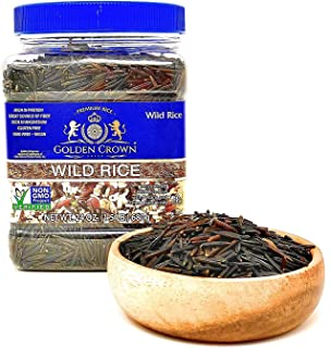 Golden Wild Rice - Gluten Free Non GMO Product Perfect Veg meal High Protein And Magnesium Source Weight Lo...