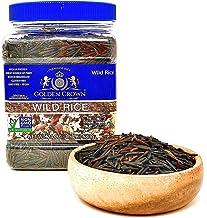 Golden Crown Wild Rice,Non-GMO,Gluten Free,Kosher,High Protein,Low Calories,24 oz,(1.5 Lbs)