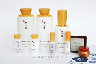 Sulwhasoo Essential Balancing Water EX, Essential Balancing Emulsion EX, First Care Activating Serum EX Special Limited 9 Pcs Gift Set 2016 New Version