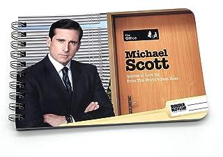 Papersalt The Office Merchandise, Michael Scott cotizaciones para vivir por libro