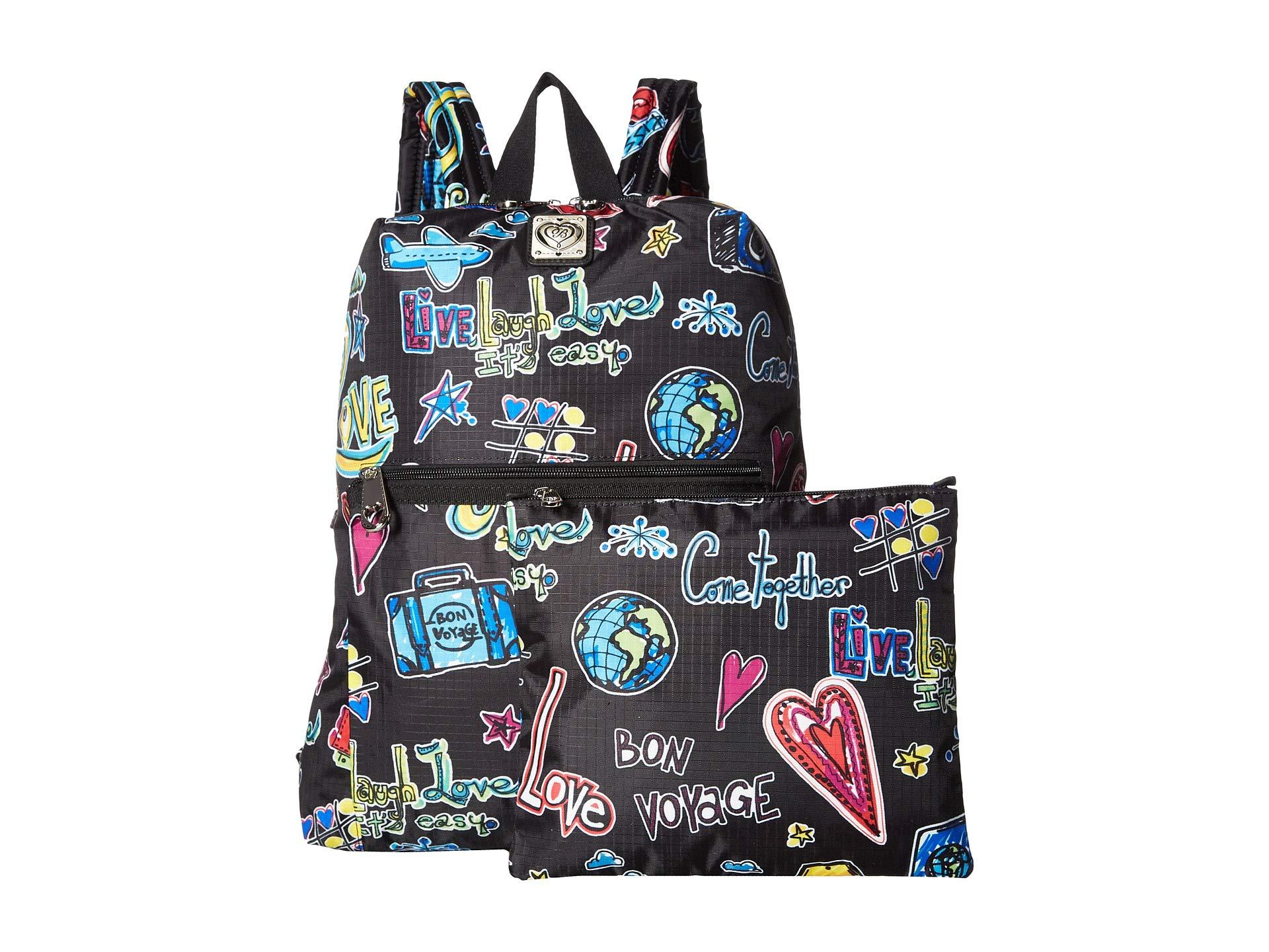 Scribble Backpack Brighton Multi Happy Trails Love 5IPqT