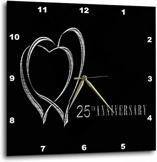 Best silver clocks anniversary Reviews