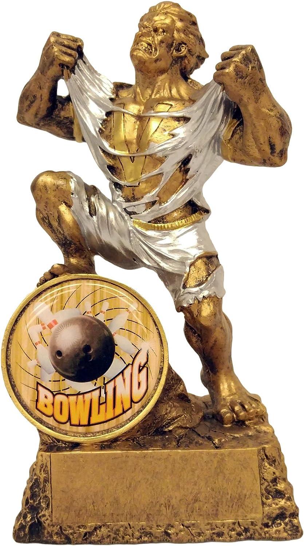 Bowling Monster Trophy   Bowler Hulk Award