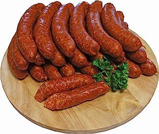 Chili Wurst | Knacker | Chiliknacker | Snackwurst | Chiliwürstchen | Krainer | Premium Mettwurst geräuchert | 10 x 100g
