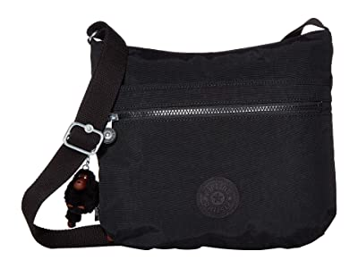 Kipling Arto Crossbody Bag (True Black) Handbags