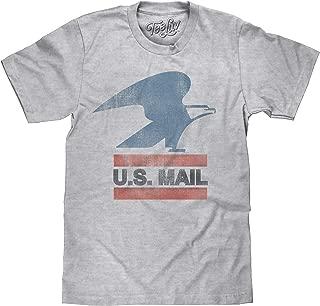 Tee Luv U.S. Mail Eagle Logo T-Shirt - Soft Touch USPS Shirt
