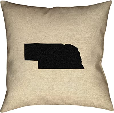 ArtVerse Katelyn Smith Tennessee 18 x 18 Pillow-Spun Polyester