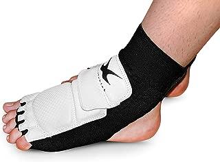 whistlekick Premium Taekwondo Socks - Foot Protectors WTF WT Olympic Boots with Warranty