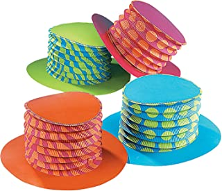 Accordion Party Hats (1 dz)