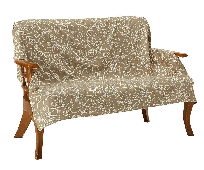国平らにする式Vita home マルチカバー 長方形 140×200 cm 北欧 ブルージュ ベージュ 綿100% 日本製 mc_006_be140200