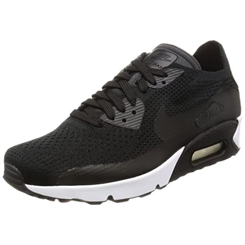 2e7a0939da7811 Nike Air Max 90 Ultra 2.0 Flyknit Men s Running Shoes Black Black-Black-