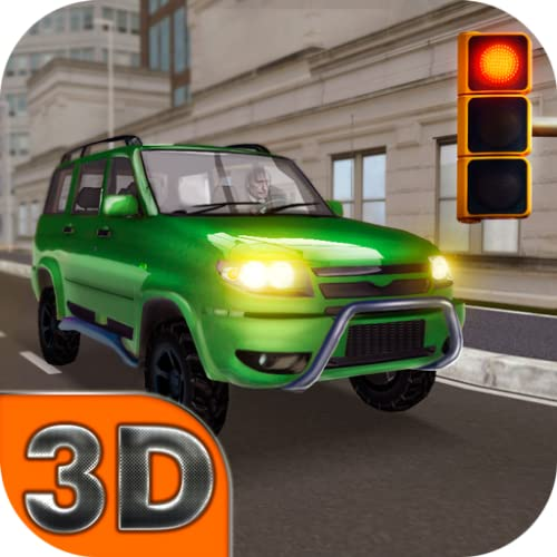 UAZ Patriot City Drivivng Simulator: Russian Car Driver | Offroad Suburban Extreme Car Driving Simulator SUV Parking