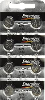 Energizer LR44 1.5V Button Cell Battery x 8 Batteries (Replaces: LR44, CR44, SR44, 357, SR44W, AG13, G13, A76, A-76, PX76, 675, 1166a, LR44H, V13GA, GP76A, L1154, RW82B, EPX76, SR44SW, 303, SR44, S303, S357, SP303, SR44SW)