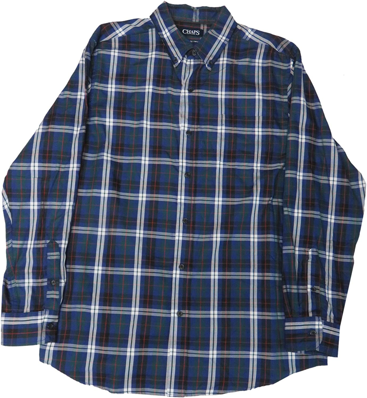Chaps Men's Dress Shirt, Size Large, Multi
