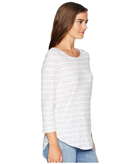 Choice Cheap Online Cheap Order Lilla P 3/4 Sleeve Boat Neck Smoke Stripe Particular Discount Clearance Pictures lAN7yHCE5