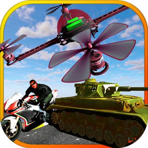 Urban Drohne Hacker: Drohnen-Simulator-Spiele