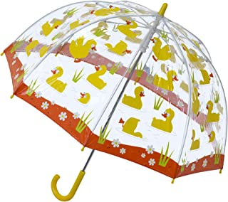 Clear Dome Birdcage Kids Duck Umbrella