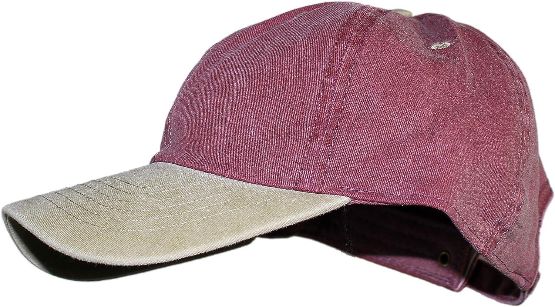 Ted & Jack - Oceanside Solid Color Adjustable Baseball Cap