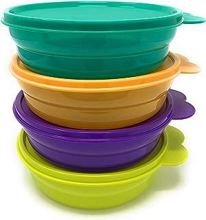 tupperware impressions micro cereal bowl orange