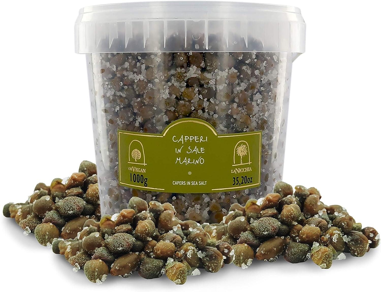 Max 69% OFF La Nicchia Pantelleria Capers in Sea Salt mm 4 Outlet sale feature - 8 Size Small