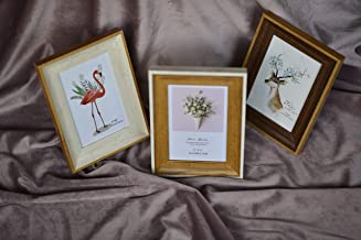 SVY 3 Pieces Tabletop Picture Frame, Outside Size 6