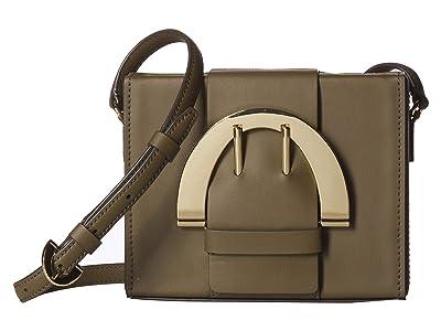 ZAC Zac Posen Biba Buckle Large Crossbody (Herb) Handbags
