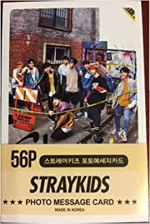 kpop Straykids Mini Post Card Photocards (56pcs)