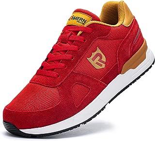 LARNMERN PLUS Laufschuhe Herren Damen Atmungsaktiv Leichtgewicht Turnschuhe Sportschuhe Straßenlaufschuhe Sneaker Joggings...