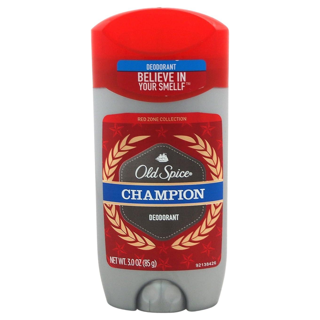 必要とするがっかりする自然公園オールドスパイス(Old Spice) Deodorant デオドラント Red zone CHAMPION/チャンピョン 85g[並行輸入品]