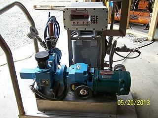 labtechsales American Lewa EK1 Metering Dosing Pump & Stober R27 Variable Speed Drive on Cart