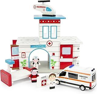 Leomark Hospital De Madera Ambulancia Mercedes Hospital De
