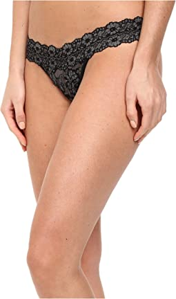 Cross-Dyed Signature Lace Low Rise Thong