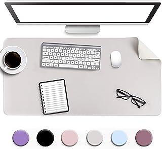 Antypoślizgowa podkładka na biurko, podkładka pod mysz, wodoodporna skórzana osłona stołu z PCV, ultracienka duża podkładk...