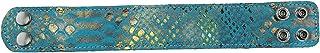 Perris Leathers BR-7014 Snake & Croc Print Bracelets