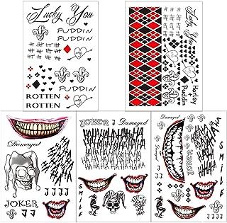 Best joker tattoo temporary Reviews