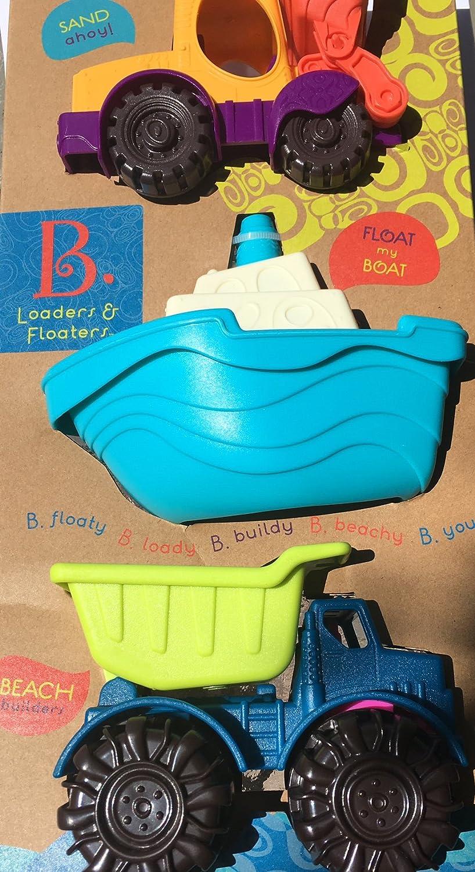 Battat 3 Beachy Loaders & Floaters   Sand Ahoy,   Float My Boat,   Beach Builders